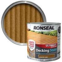 Ronseal Ultimate Country oak Matt Decking Wood stain  5L