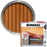 Ronseal Ultimate Natural cedar Decking oil 2.5L