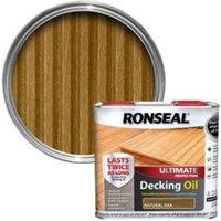 Ronseal Ultimate Natural oak Decking oil 2.5L