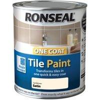 Ronseal Tile Paints Sandstone Satin Tile Paint0.75L