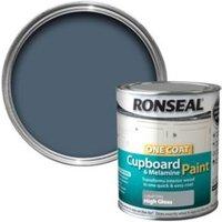 Ronseal Cobalt grey Gloss Cupboard paint 750 ml