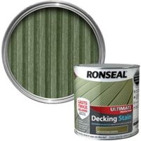 Ronseal Ultimate Mountain Green Matt Decking Stain 2.5L