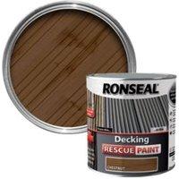 Ronseal Chestnut Matt Decking Rescue Paint 2.5L