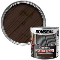 Ronseal Rescue Matt english oak Decking paint  2.5L