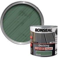 Ronseal Rescue Matt willow Decking paint  2.5L
