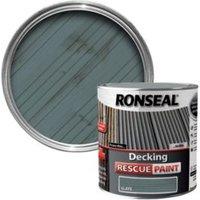 Ronseal Slate Matt Decking Rescue Paint 2.5L
