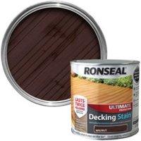 Ronseal Ultimate Walnut Matt Decking Stain 2.5L