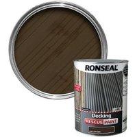 Ronseal Rescue Matt english oak Decking paint  5L
