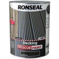 Ronseal Rescue Matt charcoal Decking paint  5L