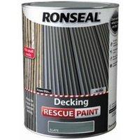 Ronseal Rescue Matt slate Decking paint  5L