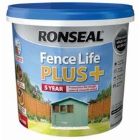 Ronseal Fence life Sage Matt Opaque Shed & fence treatment 5L