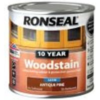 Ronseal Antique pine Satin Wood stain 0.25L