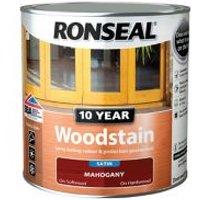 Ronseal Mahogany Satin Wood stain 0.75L.