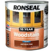 Ronseal Antique pine Satin Wood stain 0.75L