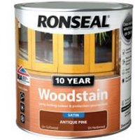 Ronseal Antique pine Satin Wood stain 2.5L