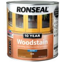 Ronseal Oak Satin Wood stain 2.5L.