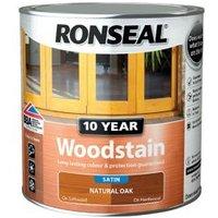 Ronseal Natural oak Satin Wood stain 2.5L.