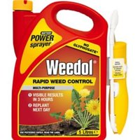 Weedol Power sprayer rapid Weed killer 5L 5kg