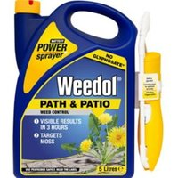 Weedol Sprayer path & patio Weed killer 5L 5kg