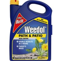 Weedol Refill path & patio Weed killer 5L 5kg