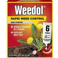 Weedol Rapid Concentrated Weed killer 0.13L 0.12kg Pack of 6
