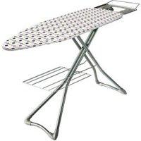 Minky Silver effect Ironing board