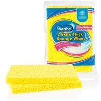 Minky Thick Sponge Wipe  Pack of 2