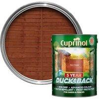 Cuprinol 5 year ducksback Rich cedar Fence & shed Wood treatment 5L