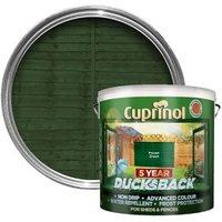 Cuprinol 5 year ducksback Forest green Fence & shed Wood treatment 9L