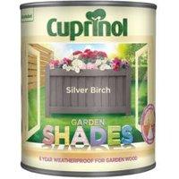 'Cuprinol Garden Shades Silver Birch Matt Wood Paint 1l
