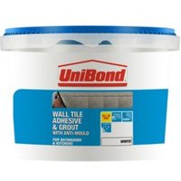 Unibond Ready to Use Wall Tile Adhesive & Grout  White 1.38kg