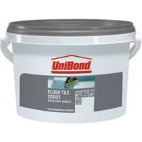 UniBond Charcoal Ready mixed grout (W)3.75kg