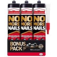 UniBond Grab adhesive 0.84L  Pack of 3
