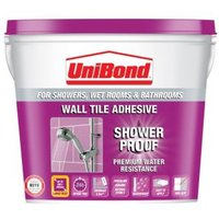 Unibond Showerproof Ready to Use Wall Tile Adhesive  Beige 10L