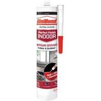 UniBond Perfect Finish Indoor Black General Purpose Sealant 300 ml