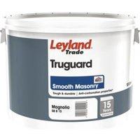 Leyland Trade Magnolia Smooth Matt Masonry paint 10L