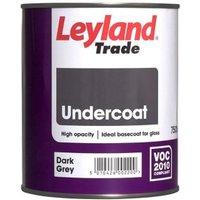 Leyland Trade Dark grey Metal & wood Undercoat 0.75L