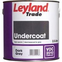 Leyland Trade Dark grey Metal & wood Primer & undercoat 2.5