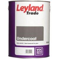 Leyland Trade Brilliant white Metal & wood Undercoat 5L