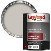 Leyland Trade Heavy duty Nimbus grey Satin Floor & tile paint 5L