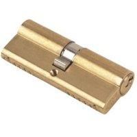 Yale 80mm Brass Euro Cylinder Lock