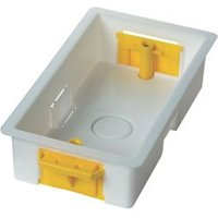 Appleby Plastic 35mm Double Pattress box Pack of 5