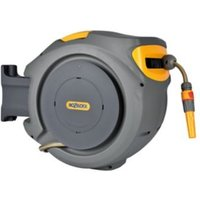 Hozelock Auto-reel Wall-mounted Hose reel & hose (L)30m.