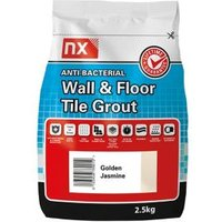 NX Anti-bacterial Ready mixed Golden jasmine Floor & wall Tile Grout 2.5kg