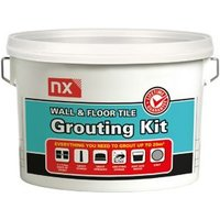 NX Grey Wall & floor Grout 5kg
