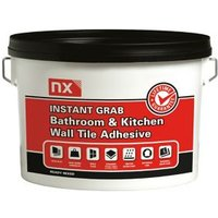 NX Instant grab Ready mixed Off white Wall Tile Adhesive 2.5kg