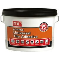 NX Universal Stone white Floor & wall Tile Adhesive 15kg
