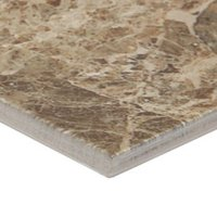 Illusion Emper Gloss Patterned Stone effect Ceramic Wall & floor tile (L)360mm (W)275mm Sample