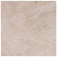 Illusion Beige Marble effect Ceramic Wall & floor tile (L)100mm (W)100mm Sample