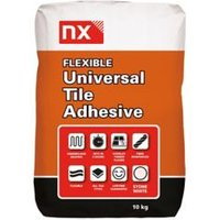 NX Universal Ready mixed White Floor & wall Tile Powder Adhesive & grout 10kg
